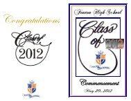 program Commencement 2012 WEB - Fenton High School