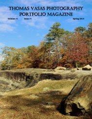 Thomas Vasas Photography Portfolio Magazine Spring 2015