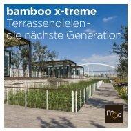 bamboo x-treme Terrassendielen - die nächste ... - MOSO Bambus