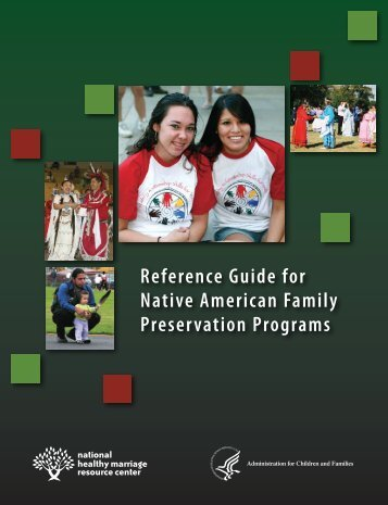 Reference Guide for Native American Family Preservation Programs