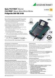 profitest - PK elektronik Poppe GmbH