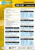 Sonel MZC-310 S Schleifentester VDE 0100 - Seite 2