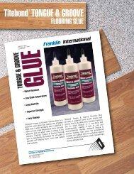 Titebond Tongue & Groove Flooring Glue - FloorOne.com
