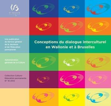 Conceptions du dialogue interculturel en Wallonie et à Bruxelles