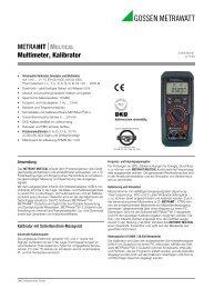 metrahit - PK elektronik Poppe GmbH