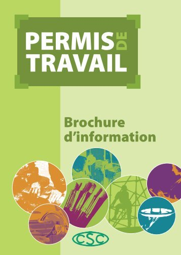 PERMIS TRAVAIL PERMIS TRAVAIL - CIMB
