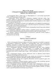 2004. évi CXL. törvény a közigazgatási hatósági eljárás és ... - NAT