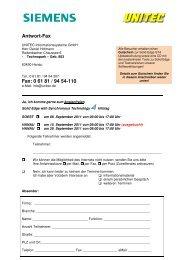 Antwort-Fax Fax: 0 61 81 / 94 54-110 - All4edge.de