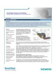 Solid Edge Design and Drafting - All4edge.de