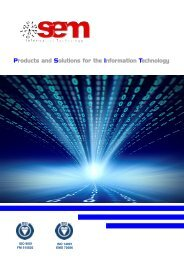 Products and Solutions for the Information Technology - Sem ...