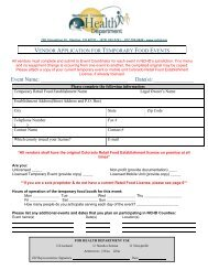 Vendor Application - Nchd.org