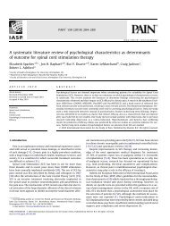 A systematic literature review of psychological ... - ResearchGate