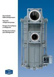 Hermetische Kältemittelpumpen Hermetic refrigerant pumps ...