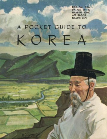 A Pocket Guide to Korea