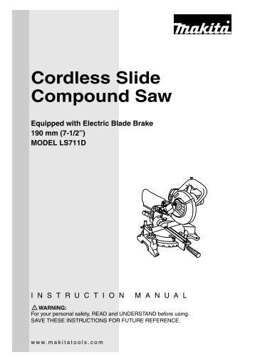 dewalt dw708 instruction manual