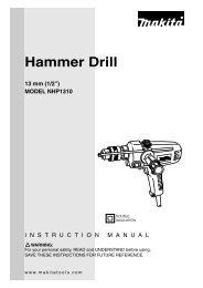 Hammer Drill - Makita