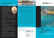 Marine Biological Station brochure - Sydney Harbour Federation Trust