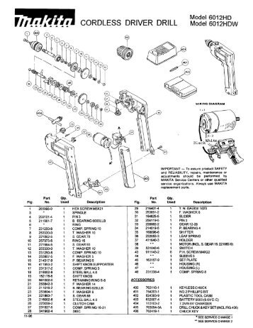 Makita Drill Wiring Diagram on quick car wiring diagram