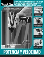 Tool Flyer (Page 1) - Makita