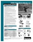 Tool Flyer - Makita - Page 2