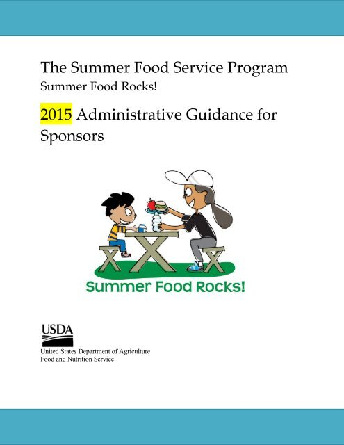 Summer Food Service Program Wi Child Nutrition Programs Fns