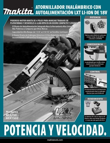 Tool Flyer - Makita