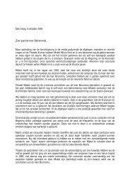 Den Haag, 9 oktober 2003 Zeer geachte heer Balkenende, Naar ...