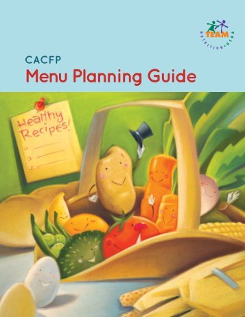 CACFP Menu Planning Guide - Healthy Meals Resource System