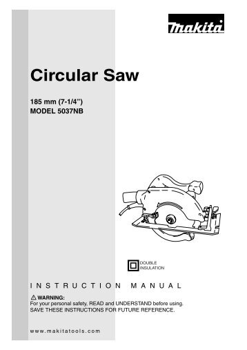 Circular Saw - Makita