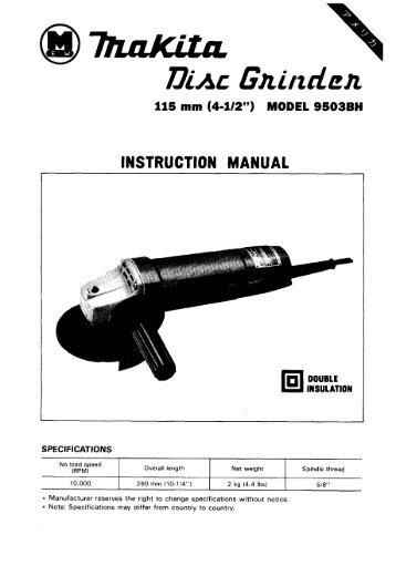makita finishing sander bo4550 manual