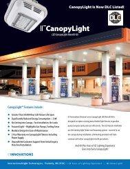 ILT CanopyLight LED Retrofit Kit Data Sheet - International Light ...