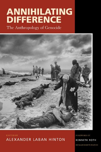 The Of Genocide Wnlibrary The Anthropology Anthropology OXZiTwPku