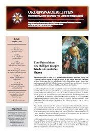ordensnachrichten 3-2012 - Jochen Ressel