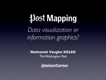 Data visualization or information graphics? - Kelso Cartography
