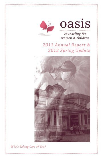 2011 Annual Report & 2012 Spring Update