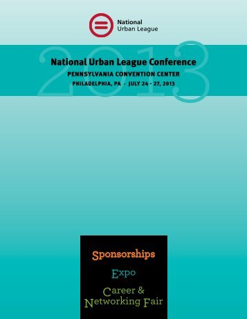 to download the exhibitor sponsor book - 2013 National Urban ...