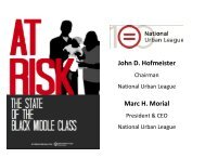 At Risk_State of the Black Middle Class (2011).pdf - National Urban ...