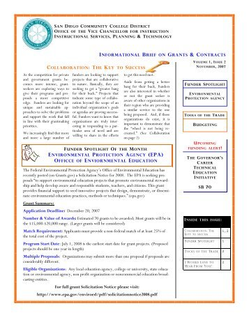 Vol 1 Issue 2 - Instructional Services and Planning - San Diego ...