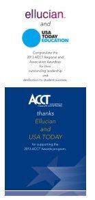2013 ACCT Awards program - Page 4