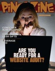 host - Ping! Zine Web Tech Magazine