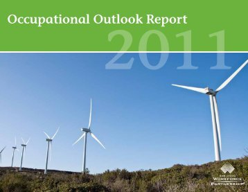 2011 Occupational Outlook Report - San Diego Workforce Partnership