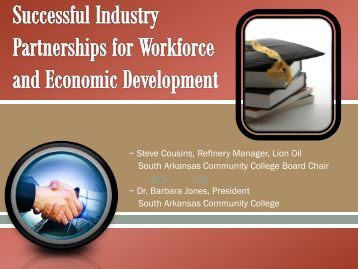 Successful Industry and Workforce Development Partnerships for ...