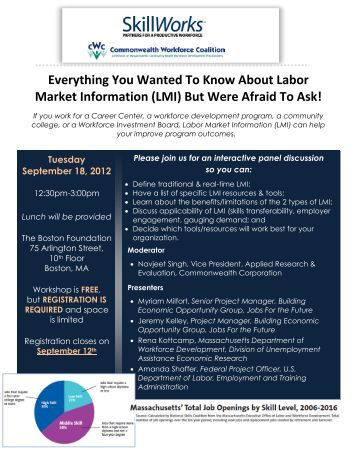 Everything You Wanted To Know About Labor Market ... - CWC