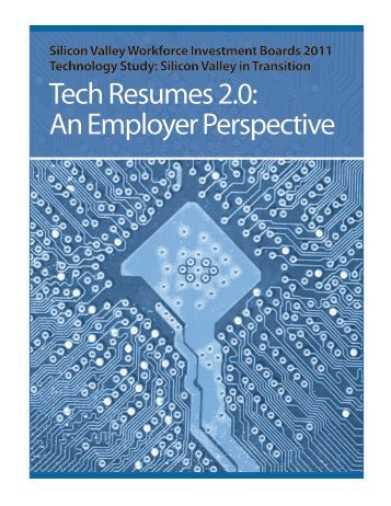 Tech Resumes 2.0: An Employer Perspective - Work2Future