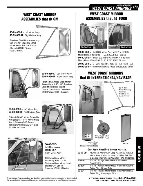 Velvac 713120 Automotive Accessories