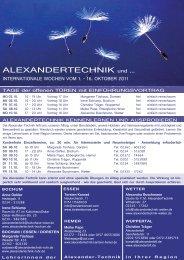 PDF, 2 MB! - Alexandertechnik