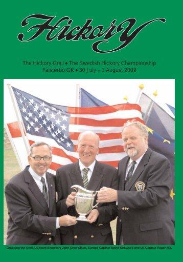 The Hickory Grail # The Swedish Hickory Championship ... - Golf.se