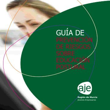 Guía de prevención de riesgos sobre educación postural