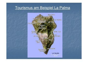 Tourismus am Beispiel La Palma