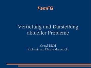 Diehl (OLG Ffm): Vertiefung zum FamFG - HeFam